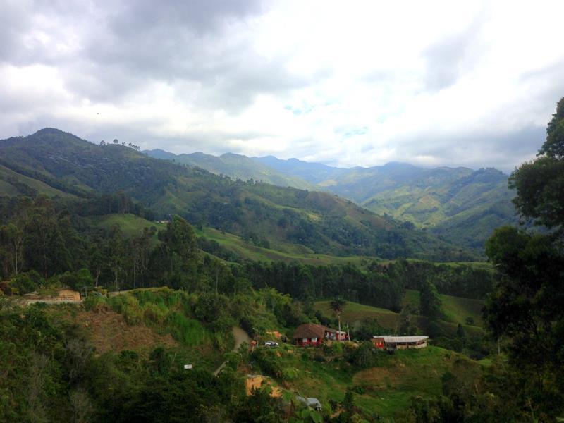 Ausblick vom Aussichtspunkt oberhalb von Salento