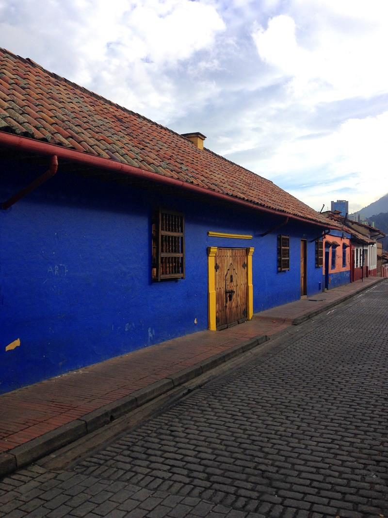 Die historische Altstadt von Bogota - La Candelaria
