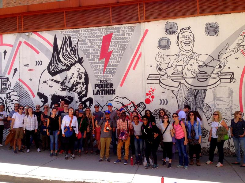 Graffiti-Tour Bogotá - Street Art soweit das Auge reicht