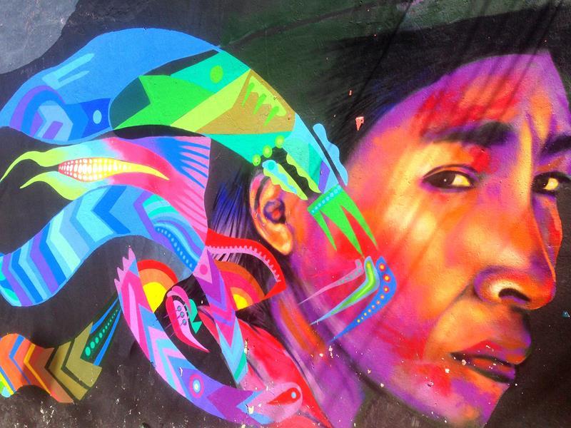 Spannende Graffiti-Tour durch Bogota mit viel Street-Art