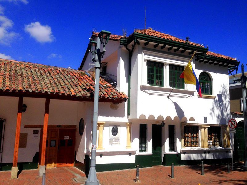 Der hübsche Stadtteil Uzaquen, das Ausgehviertel in Bogota