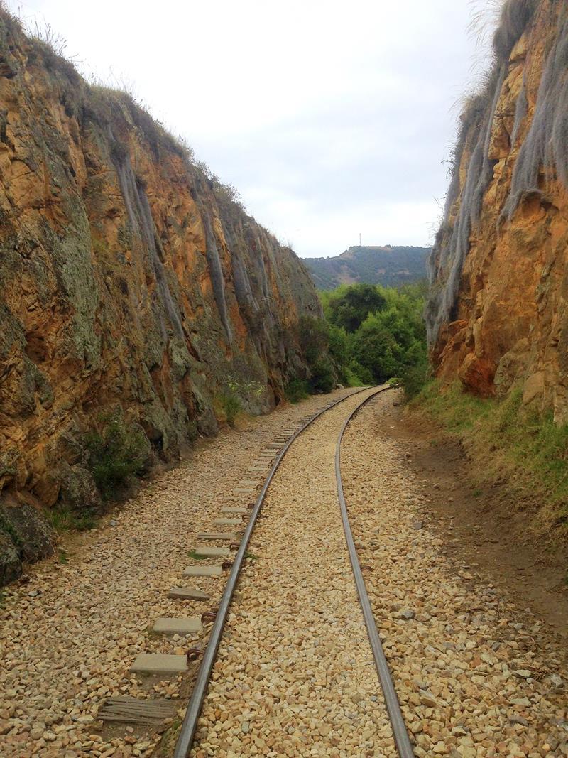 Suesca ist das Mekka zum Felsklettern in der Umgebung von Bogota