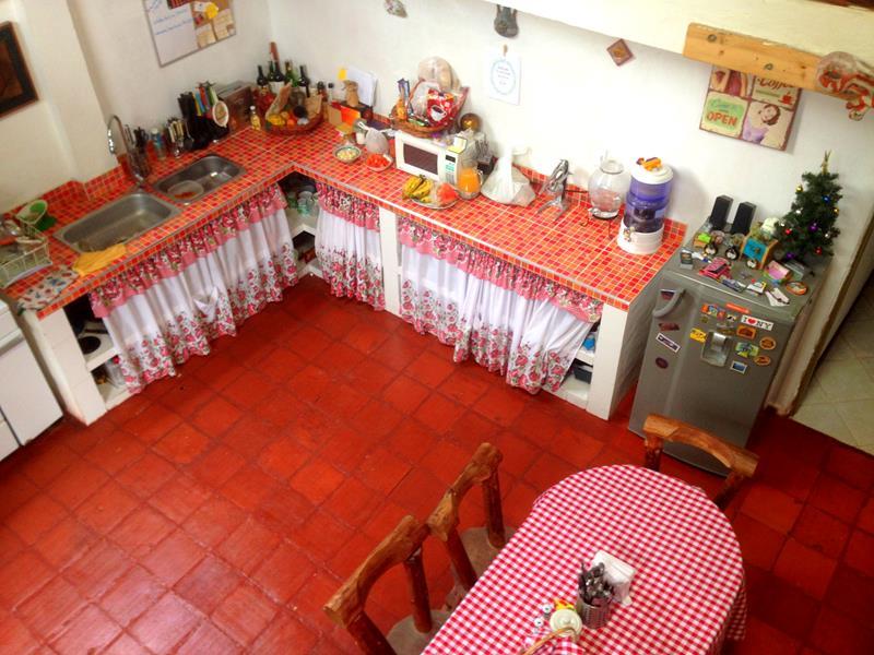 Die günstige Unterkunft Casa Andina in Suesca nördlich von Bogota