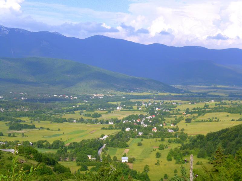 Das Dinarische Gebirge in Kroatien