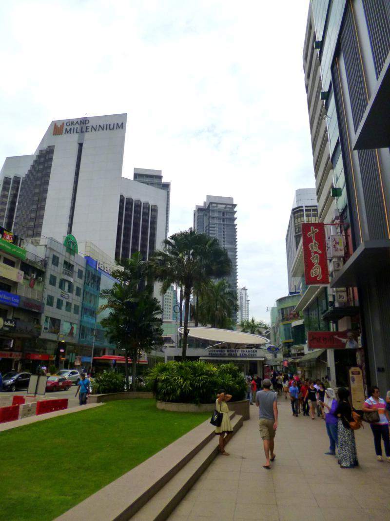 Bukit Bintang, Vergnügungsviertel in Kuala Lumpur