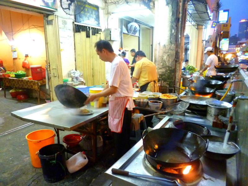 Chinatown, pulsierendes Viertel und Kneipenmeile in Kuala Lumpur