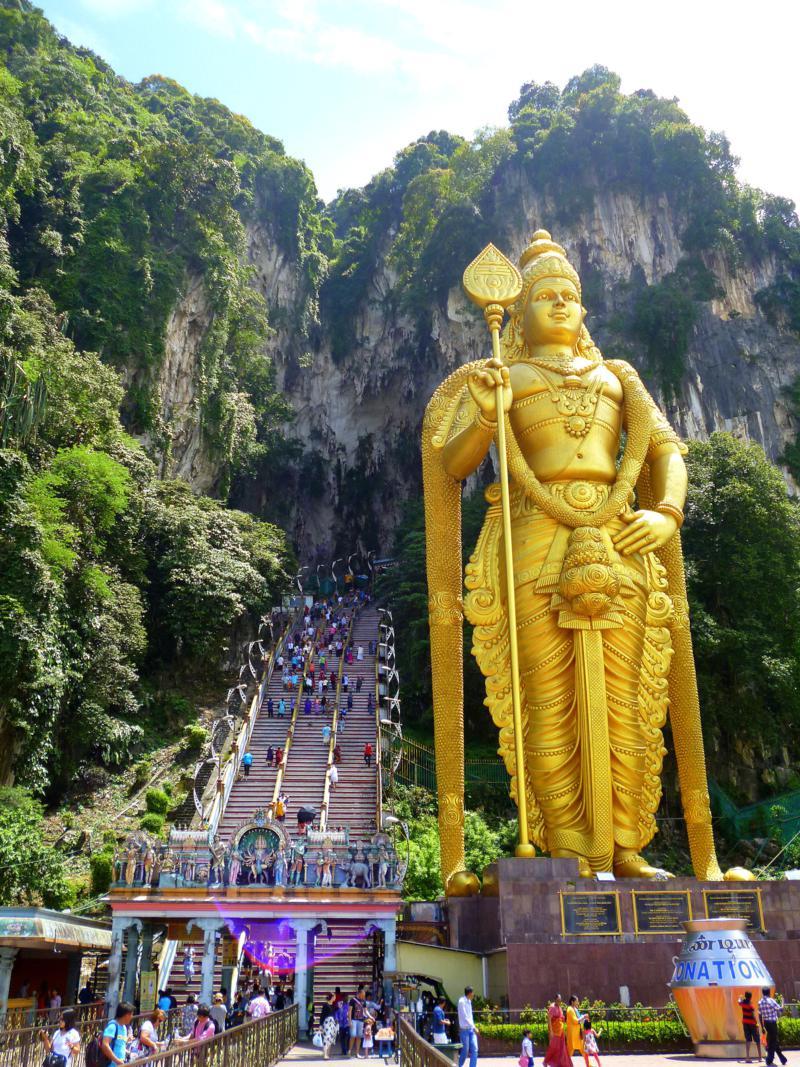 Die Batu Caves, interessantes Ausflugsziel in Kuala Lumpur
