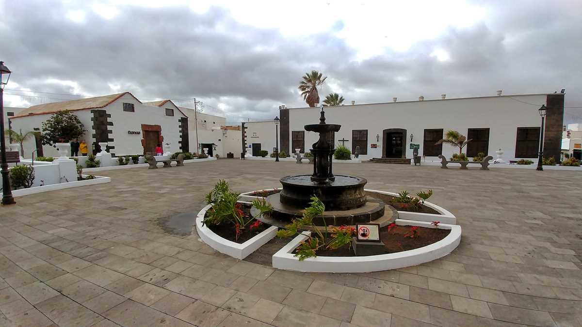 Die historische Altstadt von Teguise
