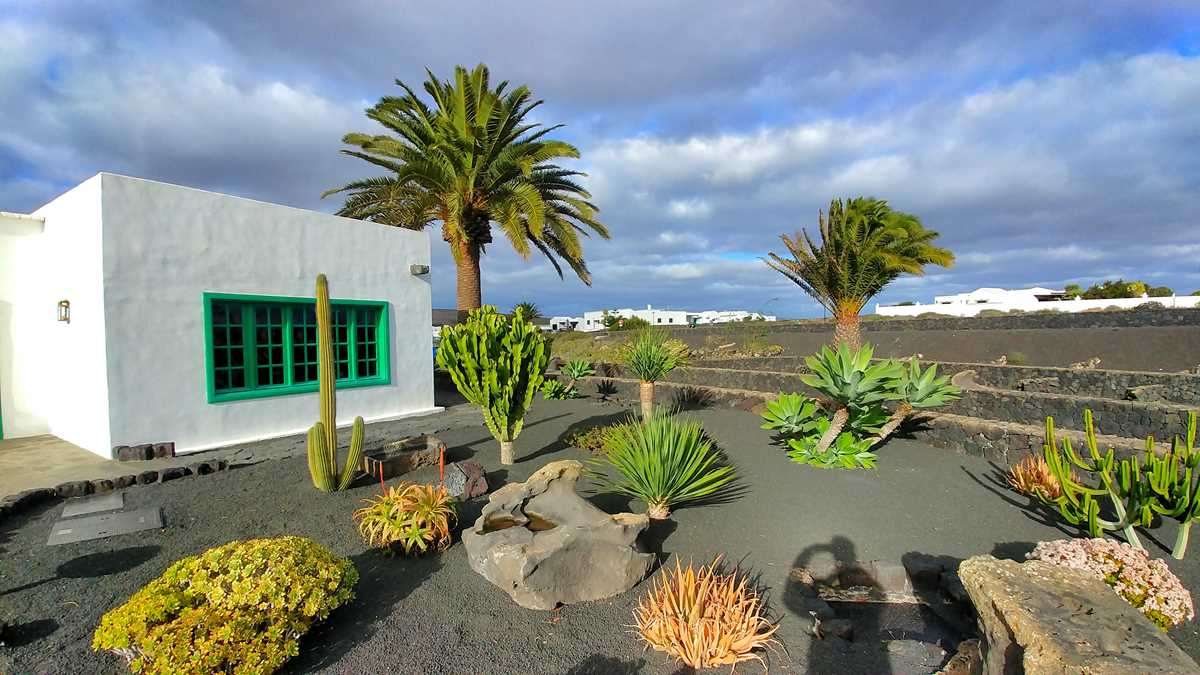 Das Monumento de Campesino im Zentrum von Lanzarote