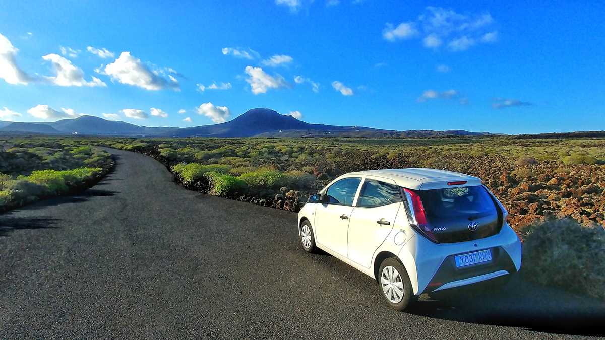 Mein Road-Trip auf Lanzarote mit dem Mietwagen