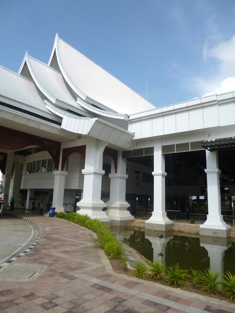 Der Grenzübergang Chiang Khong - Huay Xai von Thailand nach Laos