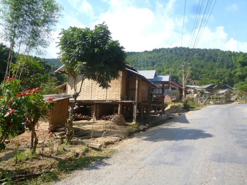 Fahrradtour durch die Gegend von Luang Namtha in Nordlaos