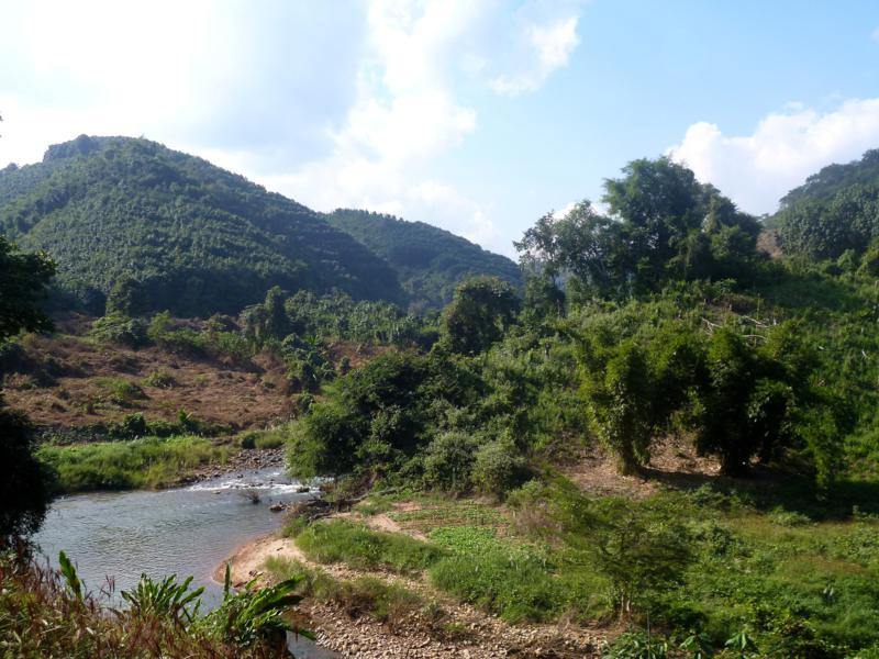 Traumhafte Natur in und um Luang Namtha in Nordlaos