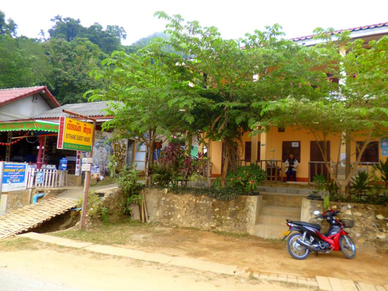 Das Synthane Guesthouse in Nong Khiaw