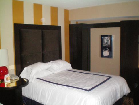 Doppelzimmer im planet hollywood Hotel in Las Vegas