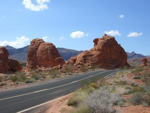 Ein guter Abstecher von oder nach Las Vegas: der Valley of Fire State Park