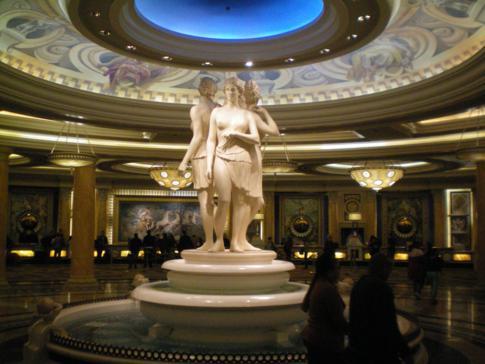 Edles Ambiente im Caesars Palace