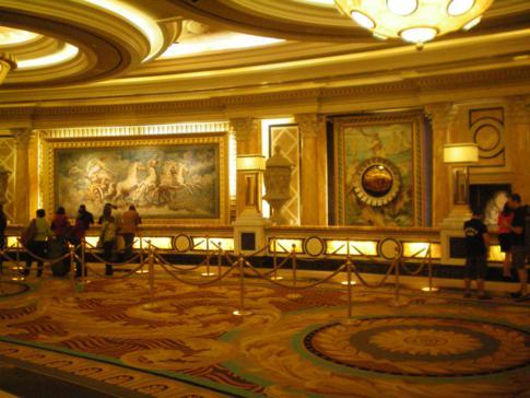 Das Caesars Palace, eines der Hotels auf dem Strip