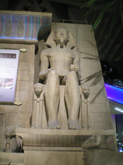 Ägypten pur im Luxor Hotel in Las Vegas, USA