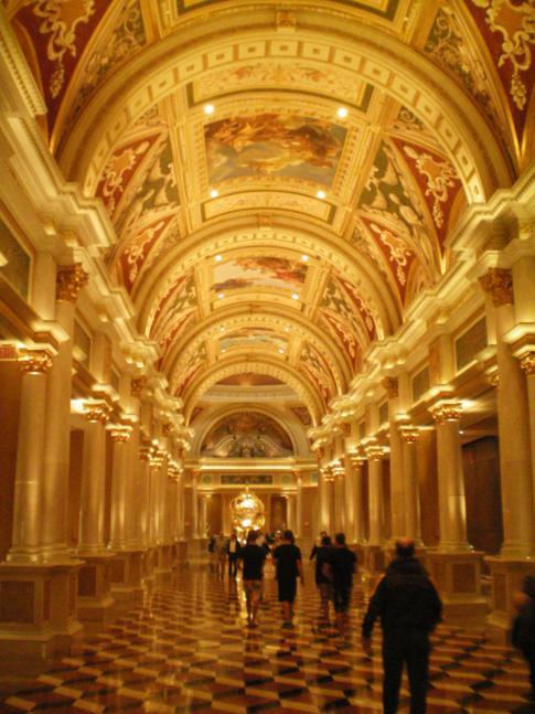 Das Venetian Hotel, eines der 5-Sterne-Resorts in Las Vegas
