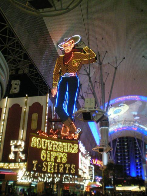 Der Vegas Vic, zweites Wahrzeichen von Las Vegas