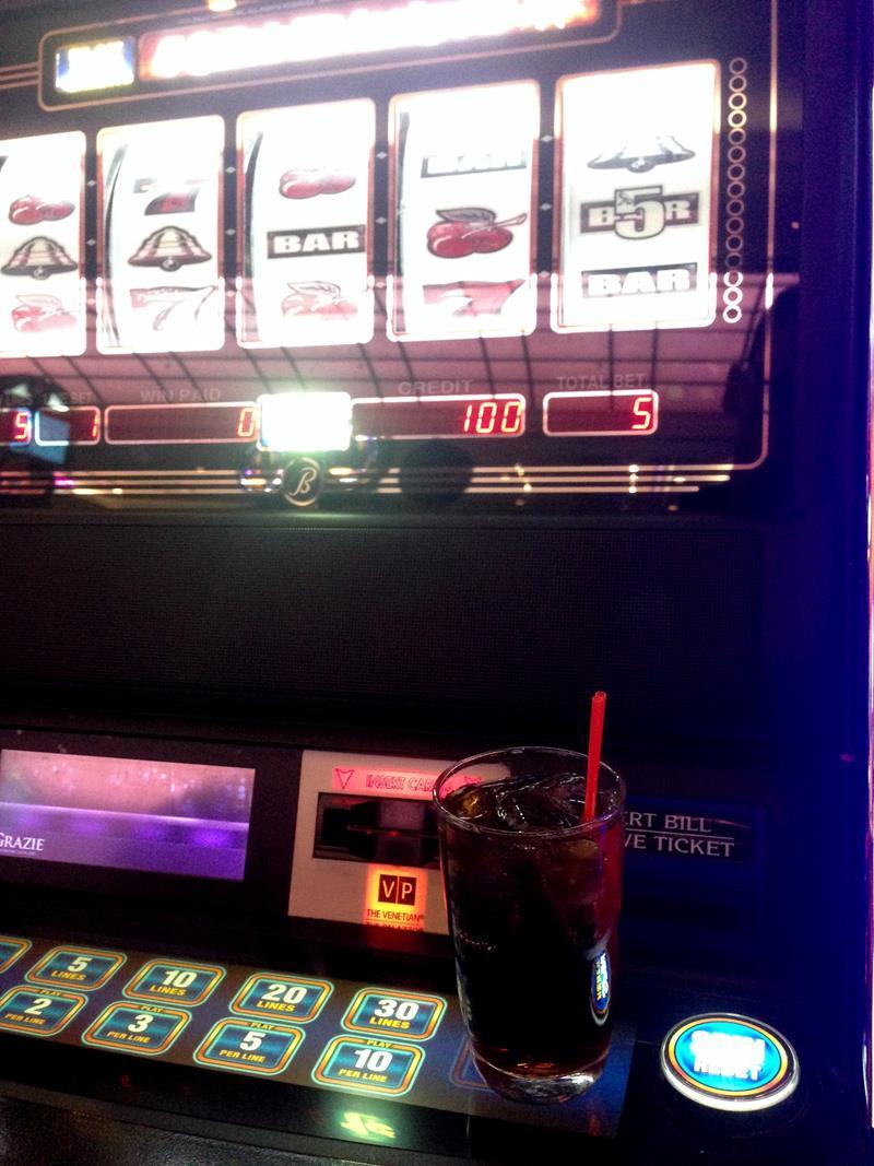 Ein typisches Las Vegas Casino im Treasure Island Resort