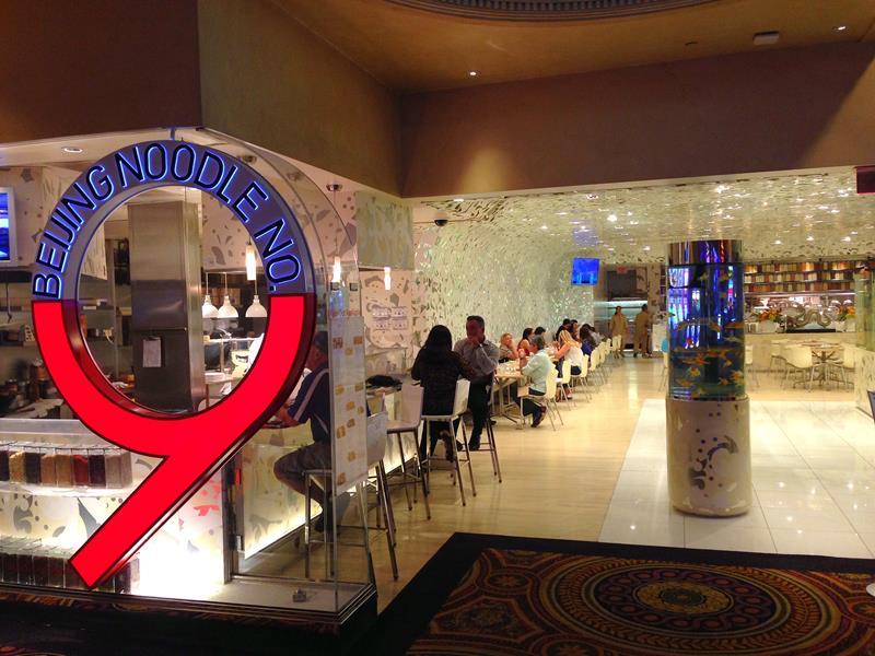 Das Beijing Noodle 9 Restaurant im Caesars Palace in Las Vegas