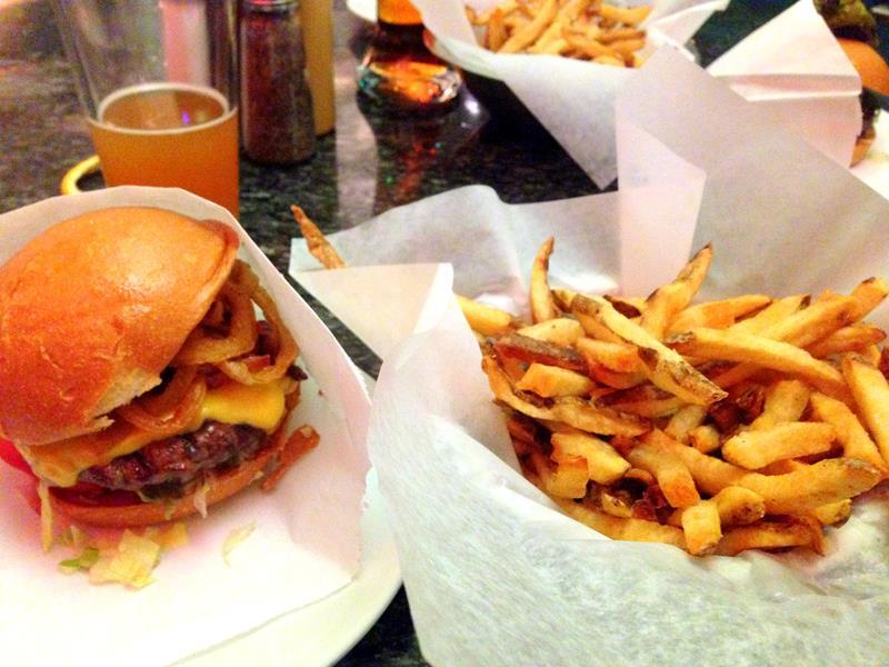 Das Burger-Restaurant Stripburger im Herzen von Las Vegas