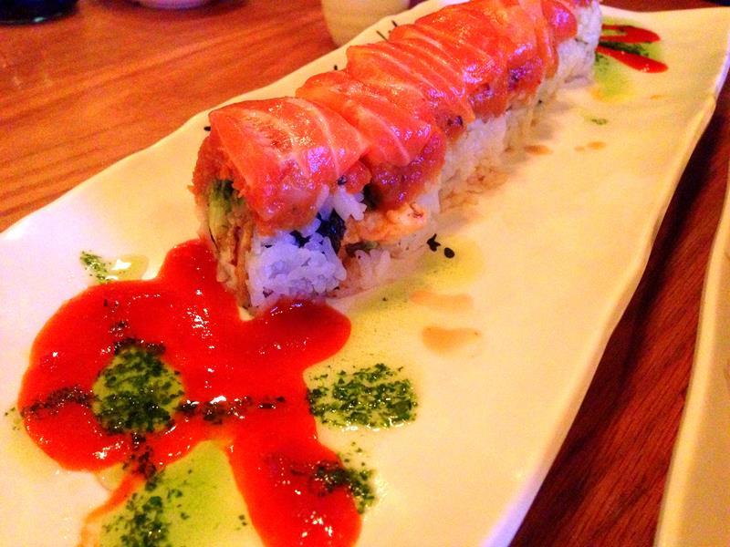 Das Restaurant Bocho Sushi in Las Vegas Downtown nahe der Fremont Street