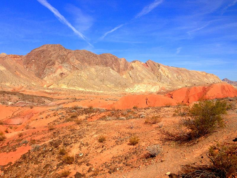 Die Lake Mead Recreational Area in der Nähe von Las Vegas