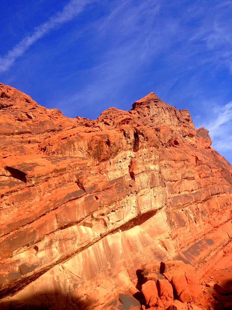 Der Valley of Fire State Park zwischen Lake Mead und Las Vegas