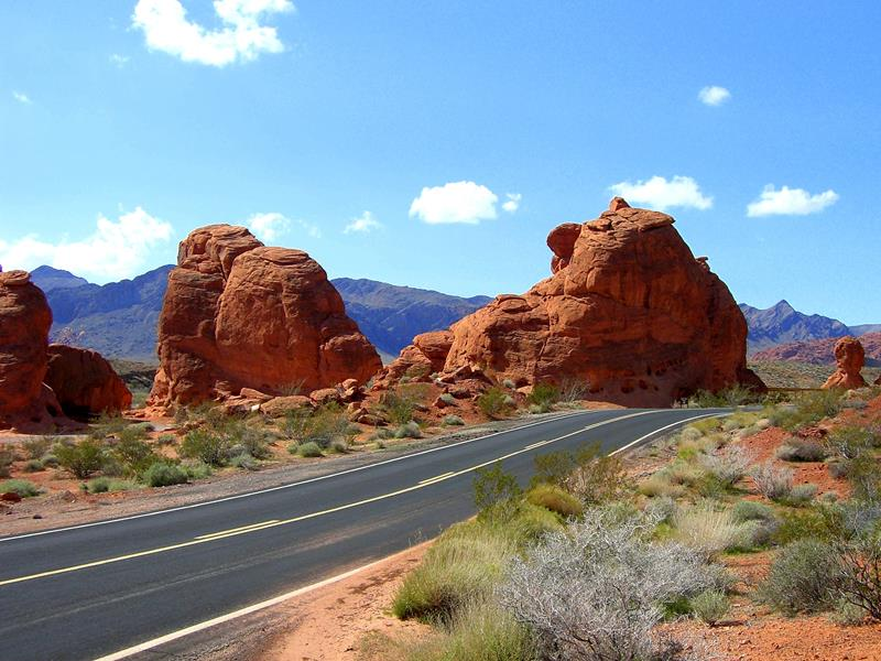 Der Valley of Fire State Park im Jahr 2010