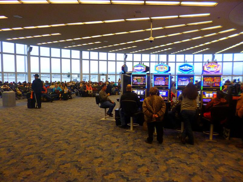 Der McCarran International Airport in Las Vegas