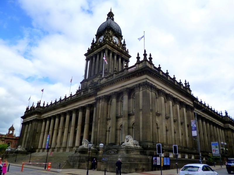 Die City Hall von Leeds