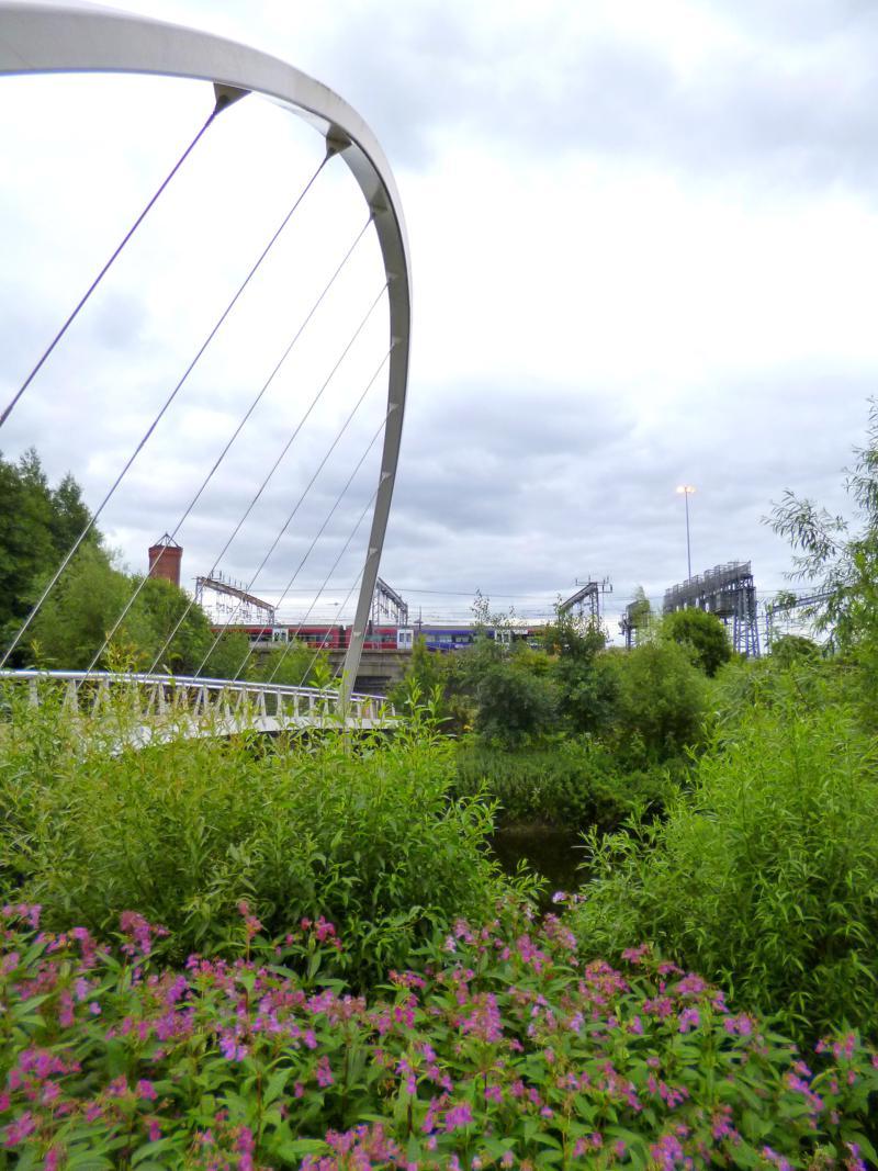 Das gemütliche Aire-Viertel in Leeds
