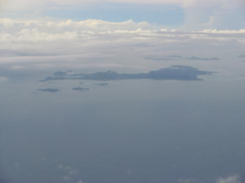 Blick auf Carriacou, die Schwesterinsel von Grenada
