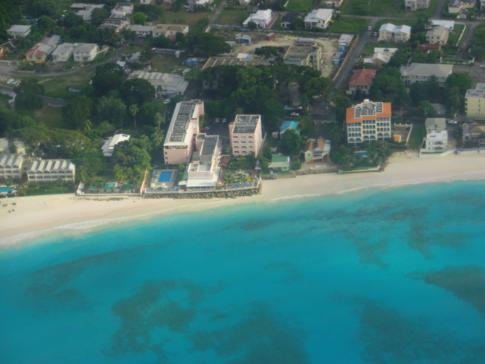 Das Butterfly Beach Hotel in Oistins auf Barbados