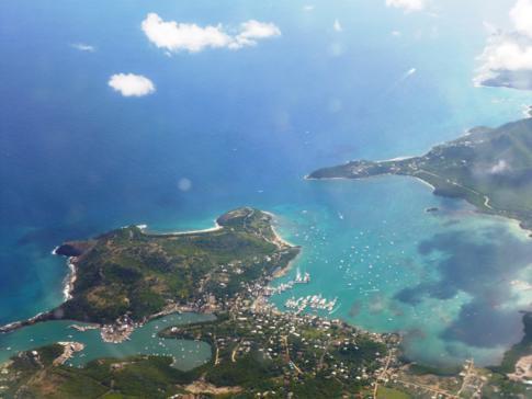Der English Harbour, berühmteste Sehenswürdigkeit in Antigua