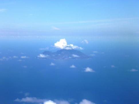 Saba, die kleine Vulkaninsel südlich von St. Martin