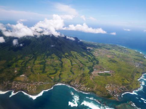 Tolle Panoramarunde mit Liat über St. Kitts, hier im Bild der Mount Liamuiga