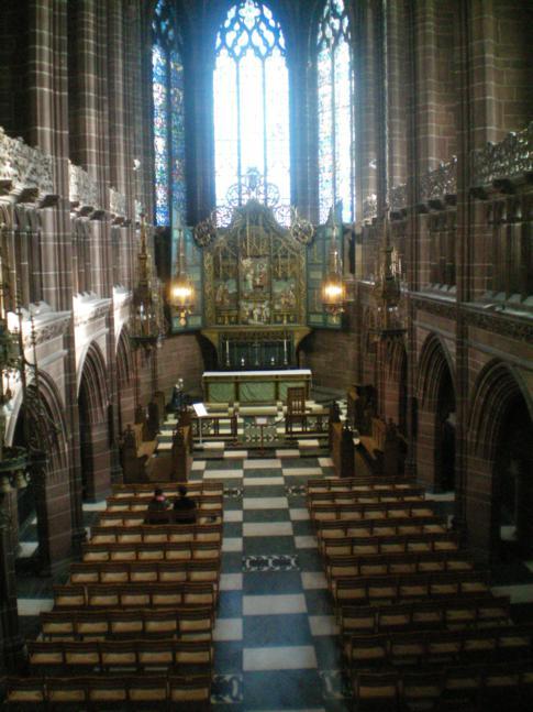 Kleine Kapelle innerhalb der Kathedrale von Liverpool