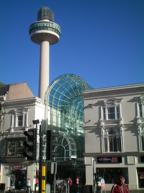 Der Radio City Tower von Liverpool
