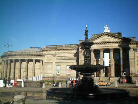 Die Walker Art Gallery im Zentrum von Liverpool
