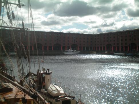 Das Albert Dock, UNESCO-Weltkulturerbe von Liverpool