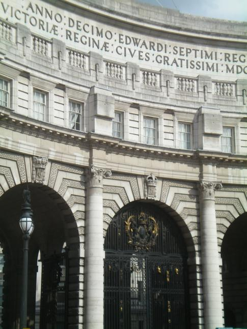 Admiralty Arch zwischen Trafalgar Square und The Mall