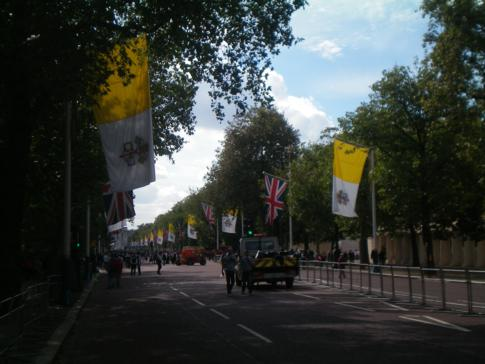 Promenadenstraße in London - The Mall