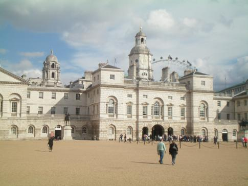 Horse Guards Palace in London - der Platz ist u.a. Austragungsort der Olympischen Spiele 2012 in London