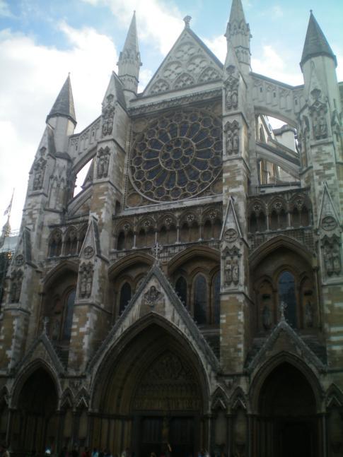 Das berühmte Westminster Abbey in London