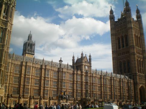 The Houses of Parliament, Sitz der Regierung von England