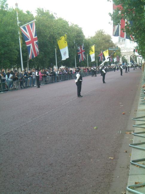 Ausnahmezustand in London - der Papst zu Besuch in Großbritannien